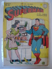 SUPERMAN #36 FN- (5.5) DC 1940's COMIC LOIS LANE COVER