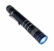 Mini 1200LM High Power Torch Cree Q5 LED Tactical Flashlight AA Clip Lamp Light