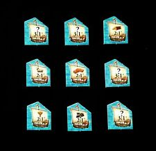 Settlers of Catan - Replacement Port Tokens - Brand New!