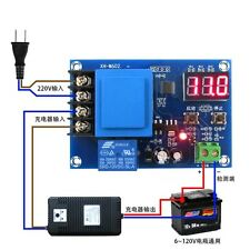 digital 12V Charger Control Lithium Battery Charging Controller protection Board