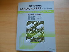 Comple-taller de manual de mapas de carreteras Toyota Land Cruiser Station Wagon' 02