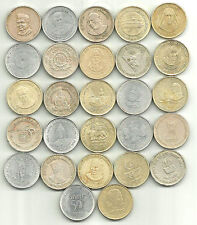 REPUBLIC INDIA ~ RS. 5/- ~ Set of 24 ~ ALL DIFFERENT ~ Commemorative COINS LOT