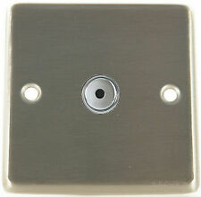 G&H CSS411 Brushed Steel 1 Gang 1 Way 400W Touch & Remote Control Dimmer Switch