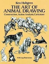 The Art of Animal Drawing: Construction, Action Analysis, Caricature (Dover Book