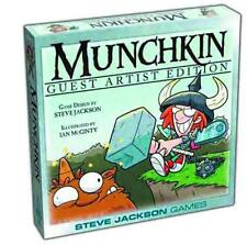 MUNCHKIN GUEST ARTIST IAN MCGINTY EDITION NEW IN BOX #sapr16-64