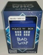 "Doctor Who Bad Wolf Tardis Vinyl Figure Rose - 6.5"" New"
