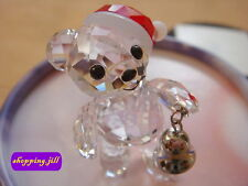 SWAROVSKI - Kris Bear - 2013 Christmas Santa Bell Limited Edition - New 5003400