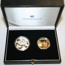 (PL) NEW: 2011 MALAYSIA 50 YEARS WWF 2 COINS PROOF SET *RARE & LIMITED EDITION*