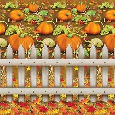 Autumn Fall PUMPKIN PATCH BACKDROP Party Decoration PHOTO PROP