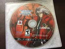 BlazBlue: Calamity Trigger (Playstation 3) DISC ONLY
