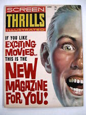 SCREEN THRILLS (WARREN) #1, 8-9 LOT (3 books)