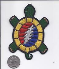 "4"" Grateful Dead Terrapin Station Bolt Turtle patch Iron on lot patches"