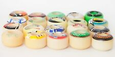 SKATEBOARD WHEELS Bulk Lot 16 Wheels 55mm 54mm 53mm Cannot Be Completed as a set