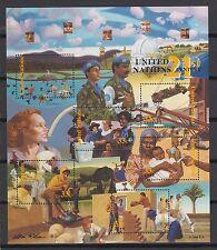 UNO New York 2000 postfrisch Block MiNr. 19
