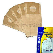5 x G Dust Bags for Dirt Devil DD500 DD500Z DD550 Vacuum Cleaner