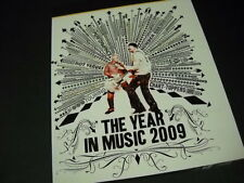 U2 The Year In Music 2009 PROMO DISPLAY AD mint condition
