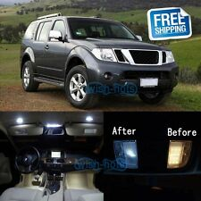 White LED Lights Interior Package Kit For 2005-2012 Nissan Pathfinder