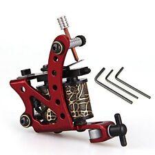 Tattoo Maschine Tattoomaschine Tätowiermaschine aus Zinklegierung Rot DE