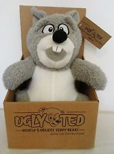 Ugly Ted Plush Stuffed Animal Toy Squirrel Squirky Anti Bullying Child Abuse