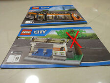LEGO City Tram & Tram Stop (from 60097) (Tree is not included) w/ tracking