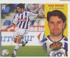 RAUL MOLINA # ESPANA RC.RECREATIVO LIGA 2003 ESTE STICKER CROMO