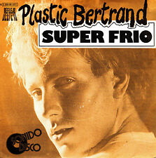 "7"" PLASTIC BERTRAND super frio / super cool 45 SPANISH 1979 affection"