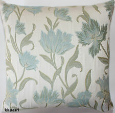 Double Sided Elegant Conservatory Cushion Cover JOHN LEWIS COLETTE Fabric 18""