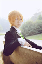 BROTHERS CONFLICT Asahina Natsume Wig Cosplay Blonde Wig+Free Wig Cap