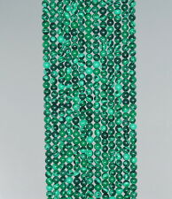 2MM HEDGE MAZES MALACHITE GEMSTONE GREEN ROUND 2MM LOOSE BEADS 15.5""