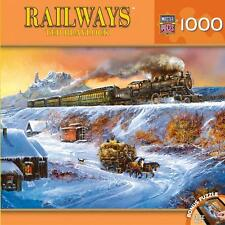 NEW Jigsaw Puzzle 1000 Piece Railways Ted Blaylock COYOTE SPECIAL Trains