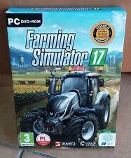 Landwirtschafts Farming Simulator 2017/17 Symulator Farmy PC PL Polnisch BOX NEU