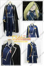 Fullmetal Alchemist Olivier Mira Armstrong cosplay costume uniform MM01
