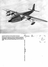Great Britain - Short Empire Flying Boat (Model) - Commonwealth (S-L XX279)