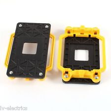 Yellow AMD CPU Fan Mounting Bracket Base AM2 940 Socket PC Processor Motherboard