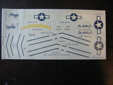 1/72 DECALS P 151 D MUSTANG US ARMY THE MILLIE P DECALCOMANIE