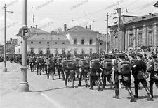 Negativ-1930-Darmstadt-Hessen-Aufmarsch-Standarte 33-uniform-Rhein-Main-Gebiet-0
