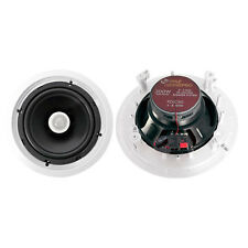 Pair New Pyle PDIC80 300 Watt 8'' Two-Way In-Ceiling Speaker System