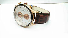 TIMEX Multi Dials Brown Strap Copper Plated Chrono Watch for Mens TWEG14901