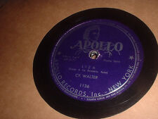 78RPM Apollo 1136 Cy Walter, Liza / Embraceable You  V
