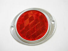 Aluminum Marker Reflectors for Mailboxes Drive Ways Etc. - Red