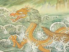 BUDDHISM DRAGON PAINTING DRAWING PHOTO ART PRINT POSTER PICTURE BMP060A