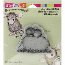 Stampendous House-Mouse Cling Stamp - Easter Egg Nap HMCV12