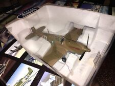 Franklin Mint Armour Diecast Airplane P-40 F5 Warhawk Madkot B11B626 1:48