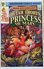 NICK BRADSHAW DEJAH THORIS PRINCESS OF MARS ART PRINT SIGNED POSTER