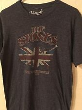 THE ROLLING STONES North American Tour 1981 Men's Retro-Concert T-Shirt Size M