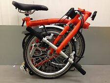 BROMPTON FOLDING BIKE S3L WORLDWIDE POSTAGE  3 SPEED GOOD. CONDITION