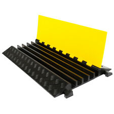 Modular Rubber 5-Cable Warehouse Electrical Snake Cover Protector Ramp DH-CP-2