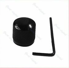 metal guitar Control Knob fits Telecaster Bass Vintage Dome tool fender black UK