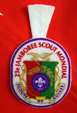 23rd world scout jamboree GUINEE Contingent bBadge 2015
