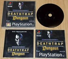 Deathtrap Dungeon EIDOS PAL PS1 PSX Playstation 1 Spiel Game auch PS2 PS3 PSone